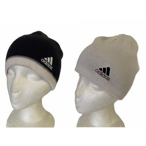 Adidas Climawarm Reversible Knit Beanie Hat OS